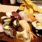 108456022 - おやじの天ぷらセット