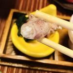 幸寿司 - 一瞬、蛍烏賊⁈って思いましたが 食べたら味が全然違うので直ぐに分かります。  ベイカの蛍烏賊サイズ初めて食べました(笑)