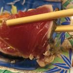 幸寿司 - 藁焼きでは無いです。