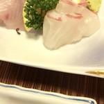 幸寿司 - 刺身3点盛り