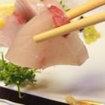 幸寿司 - カンパチ