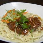 DINING小麦 - 甘辛の肉味噌を麺にからめて!ジャージャン麺