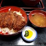 柏屋食堂 - 料理写真:上名代ソースカツ丼(1300円)