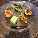 洋食 ルセット - 前菜の盛り合わせ