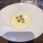 洋食 ルセット - 新じゃがの冷製スープ