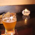 ミルク&ビアホール九十九 - なぎさビール。飲みやすい✨