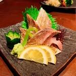 海鮮釜居酒 花火 - 太刀魚炙り刺し