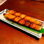 海鮮釜居酒 花火 - 太刀魚の大葉たち巻き