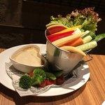 the life table - ・彩り野菜のバーニャカウダ(780円×2人前)