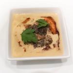 Artichaut - フォアグラとモーリユ茸のフラン