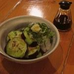 いざかや メネフネ - 「庄屋茄子の油焼」450円