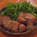 いざかや メネフネ - 「豚肉の粕漬焼」680円