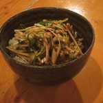 いざかや メネフネ - 「ねぎぶた御飯」500円