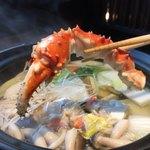 108472036 - 蟹の出汁が!