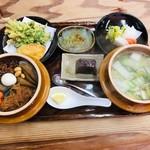 108473002 - 山菜釜めしセット(1,500円)