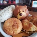 小麦館 - 料理写真:朝ごパンでいただきました