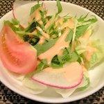 バティチ - バティチランチ 1300円 の生野菜サラダ