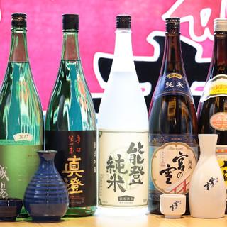 多彩な品揃えで飽きが来ない◇オーナー自ら厳選の日本酒にも注目