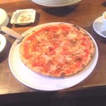 ヒラノグラーノ - さくらえびのピザ!絶品!