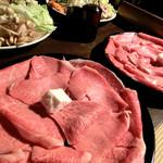 水辺のカフェ 三宅商店 酒津 - <年忘れ>連島ごぼうのすき焼きで年忘れの宴