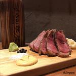 肉バルサンダー - 黒毛和牛三角バラA-4