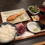 旬菜料理 でんご - 気まぐれお魚定食   1,100円
