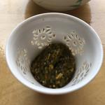 うちげの料理 八塩 - アカモク
