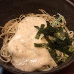 栄茶屋 - 自然薯蕎麦