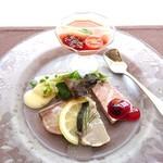 108493866 - ランチセット1950円の前菜