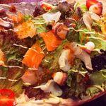 本日の海鮮サラダ