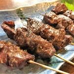 博多屋台メシ 牛サガリのステーキ