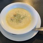 馬車道 - セットのスープ
