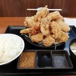 からやま - デカ盛り定食¥2,149
