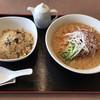 青苑 - 料理写真:涼風タンタン麺セット