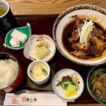 寿し徳 - あら炊き定食 1300円