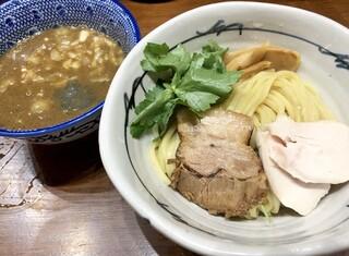 百日紅 - 特濃煮干つけ麺850円