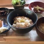 ごはんかふぇ まめの木 - 料理写真:姫たけごはんのランチ(1300円)