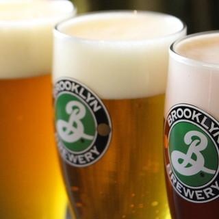 クラフトビールは週替わりで用意。個性溢れる一杯を楽しんで