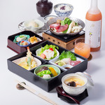 四季彩 - 「葱まぐろ鍋弁当」
