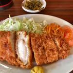 食堂 蘭 - 料理写真:チキンカツ定食 690円