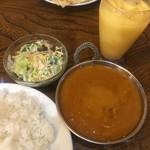 エベレスト キッチン - キーマカレーセット 6辛 ライス ¥750