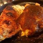 キッチンきむら - チーズハンバーグ&チキンソテー