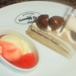 ハミングバード2000 - 栗のショートケーキ