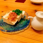 蔵土 - 島豆腐の冷奴