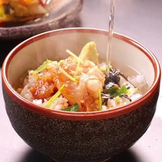 釣った魚をお好みの調理法で!おすすめは名物「鯛茶漬け」♪