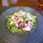 リストランテ ブォーノ - イタリア産生ハムのサラダ