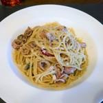 リストランテ ブォーノ - ヤリイカのスパゲッティー パルミジャーノ風味