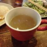 ファイヤーキャンプ - 玉ねぎスープ