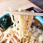 108527835 - チャシュー麺  麺リフト