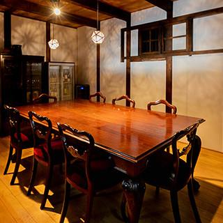 古民家を改装したくつろぎの和空間は、まさに大人の隠れ家